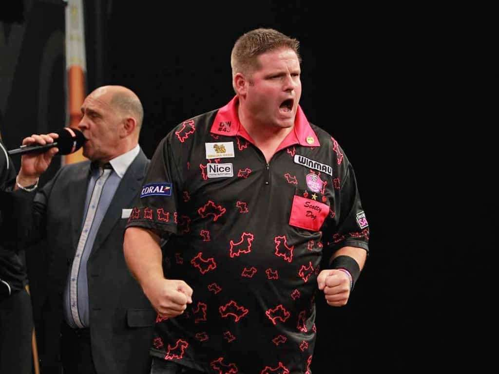 Scott Mitchell is currently preparing for the PDC Qualifying School