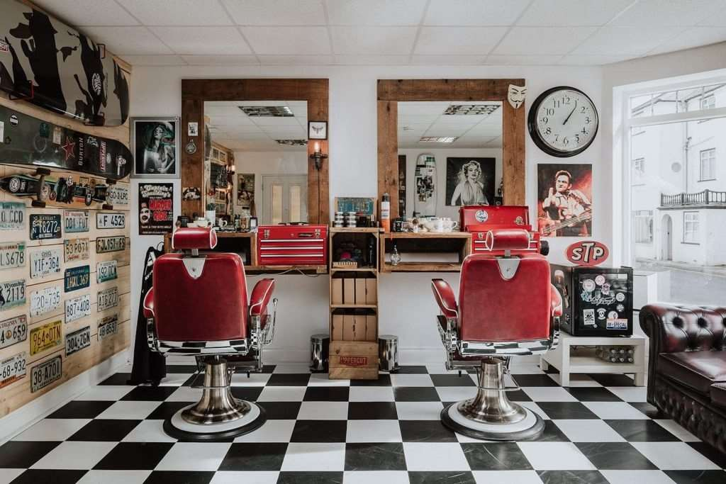 Specialist styling and beard grooming services at Simon Digweed's Fuel Hair in Milford