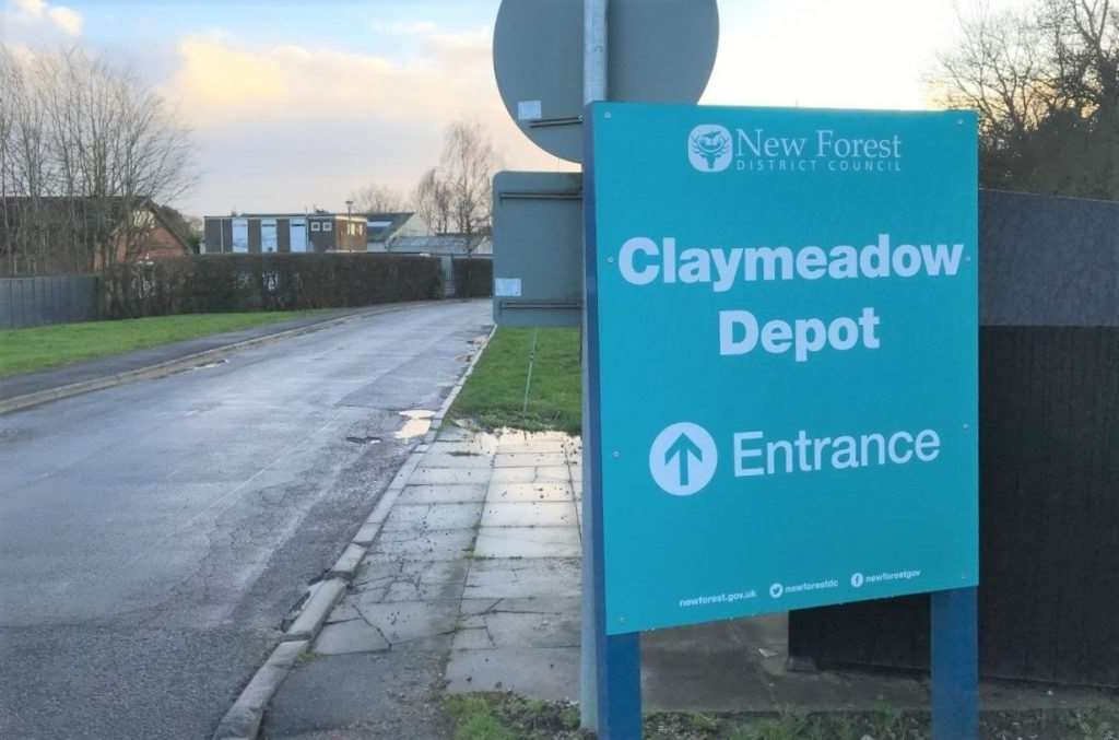 The depot is to move from its current home at Claymeadow in Hounsdown
