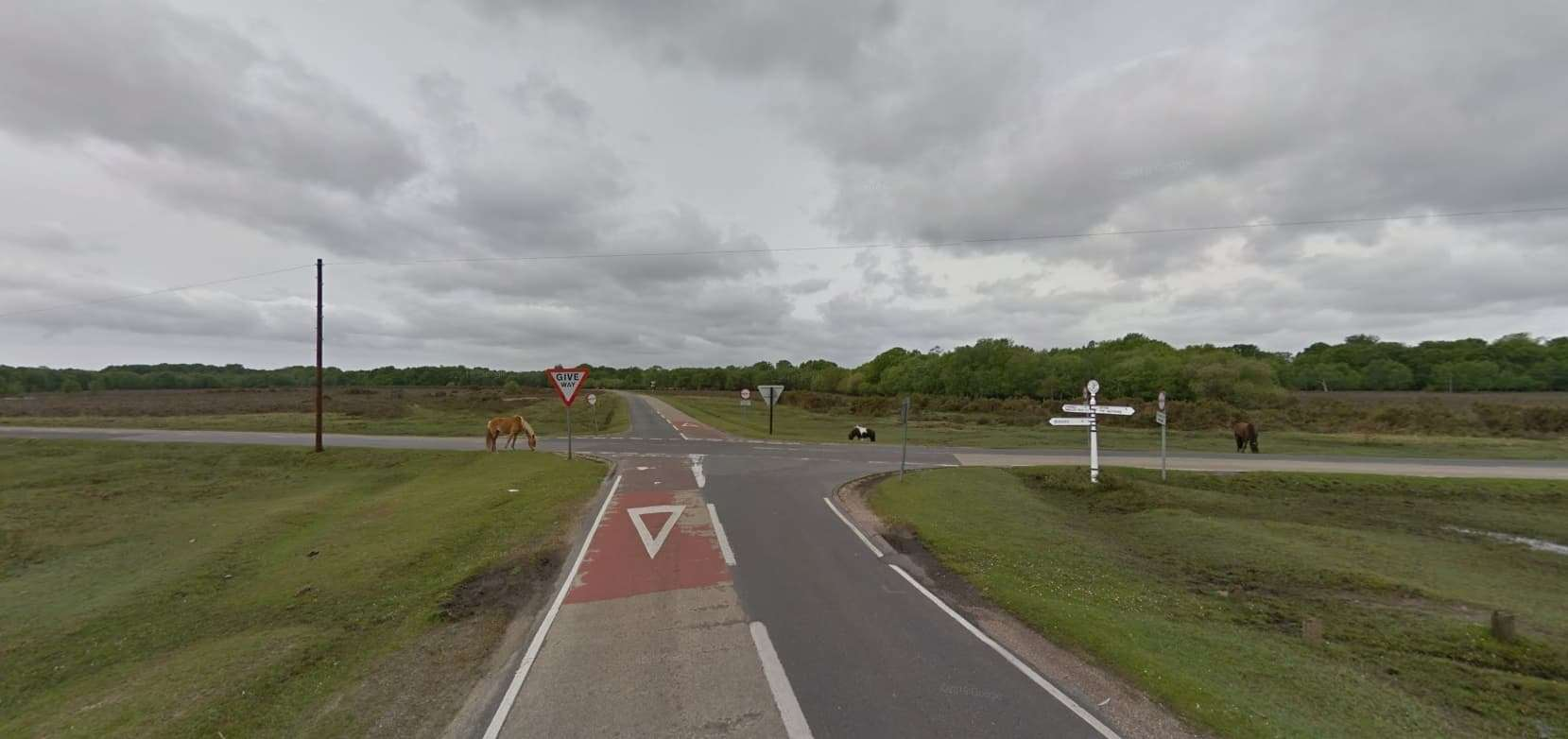 Calls to improve safety at accident blackspot Ipley Crossroads have continued for several years (Photo: Google)