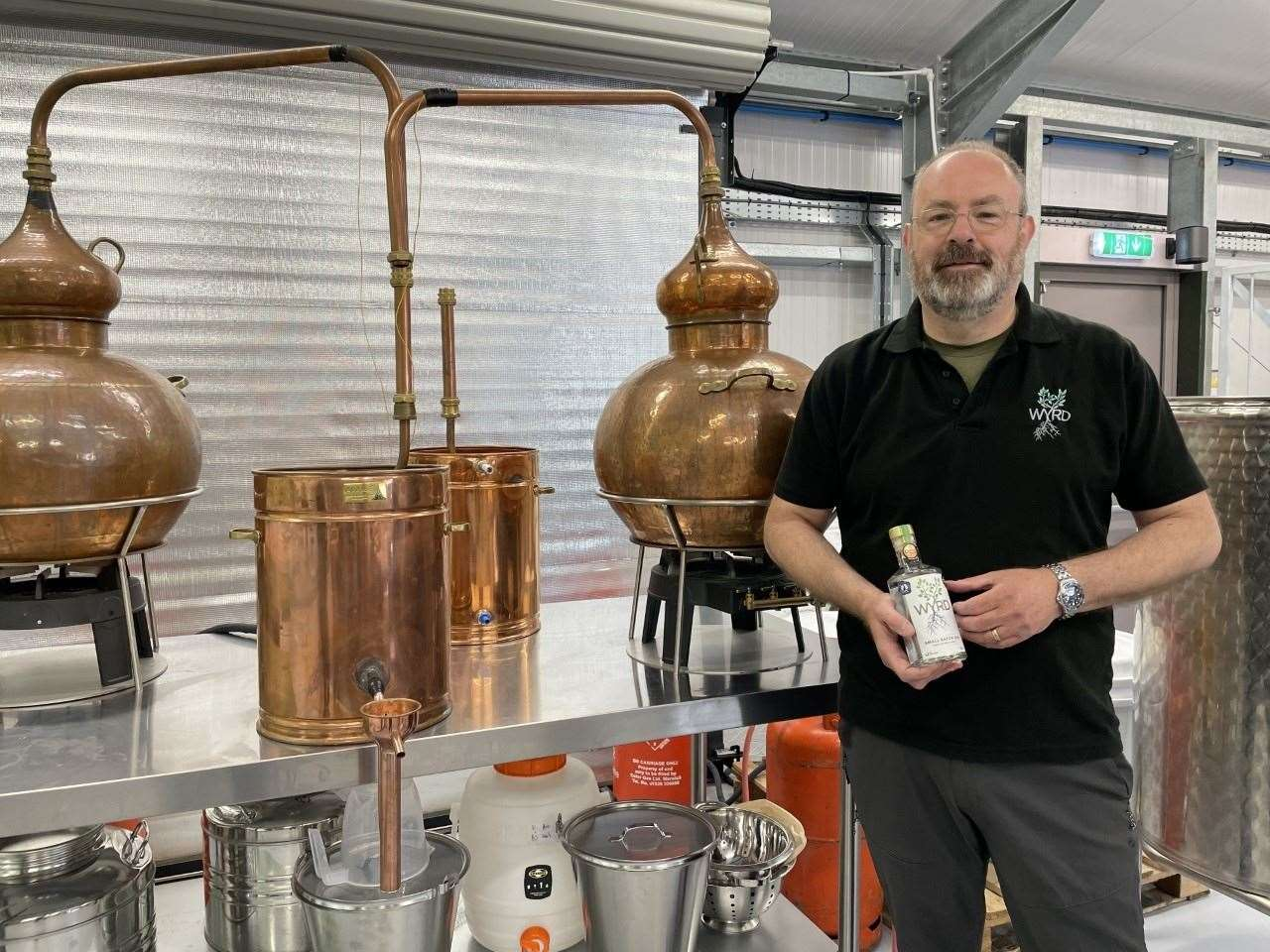Mark and Kay Williams created New Forest Spirits in 2018
