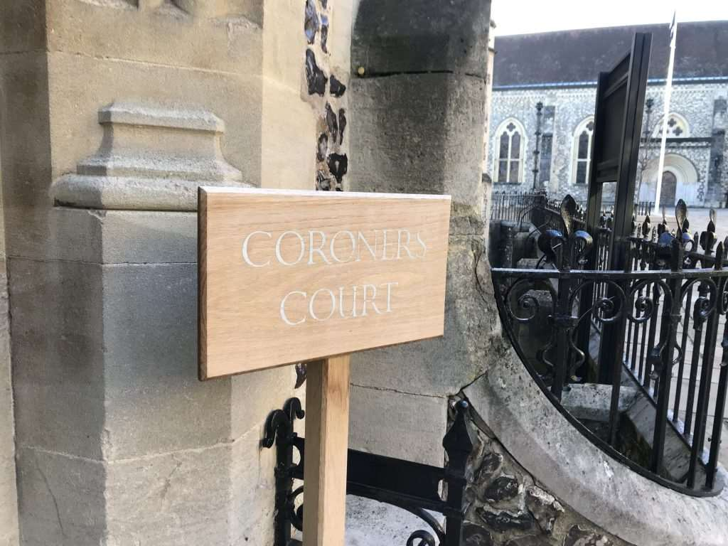 Patrick Norum's inquest was held at the coroner's court in Winchester