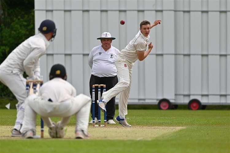 Lymington's Dan Cox tore Hampshire Academy apart, taking six wickets for just 15 runs