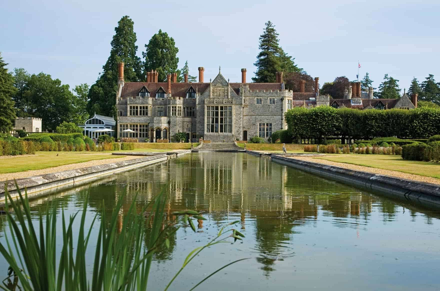 The Crown filmed scenes at Rhinefield House Hotel in Brockenhurst