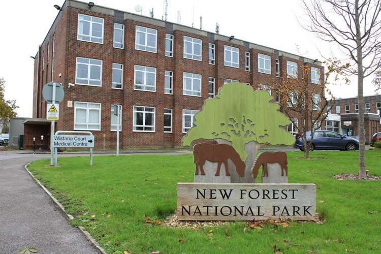 New Forest National Park Authority offices at Lymington Town Hall