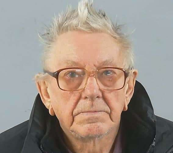 Gordon Renaut (83) was jailed for eight years in total after admitting six offences against two girls