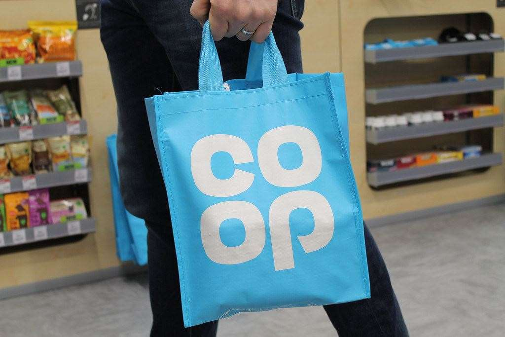 Co-op stores is encouraging people to make more use of their re-usable bags
