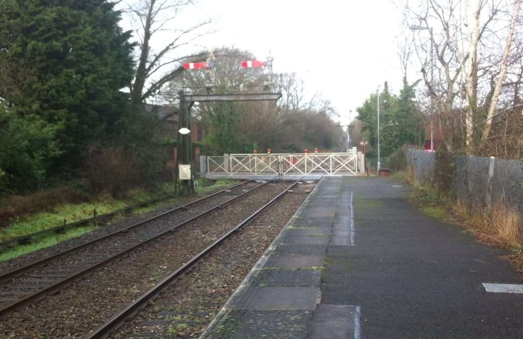 The original station building in Marchwood could be reopened