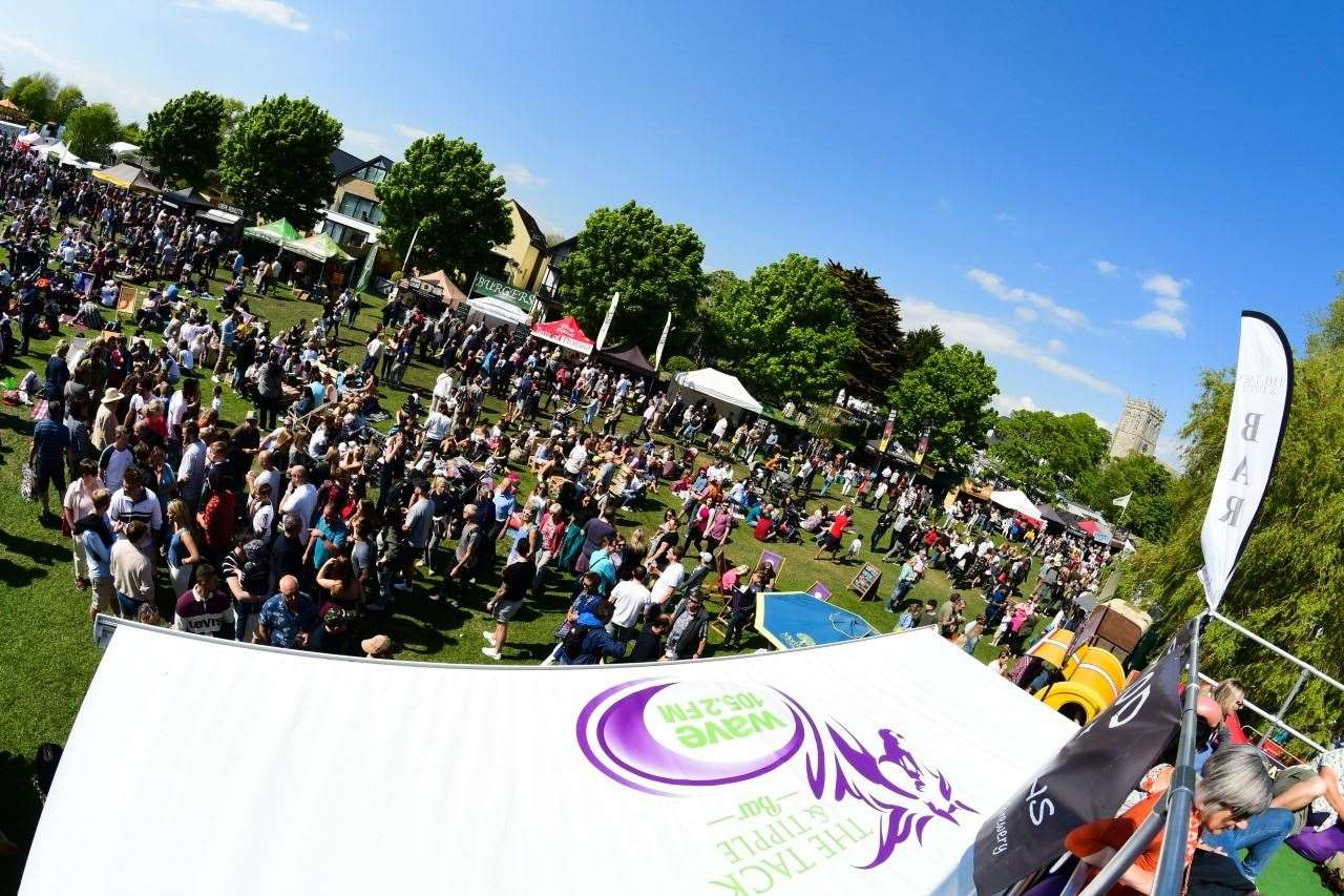 The Christchurch Food Festival usually takes place in May, but will be back this year for the bank holiday weekend.