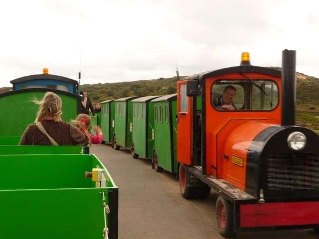 The Noddy train was stopped in 2018 after a collision with a cyclist
