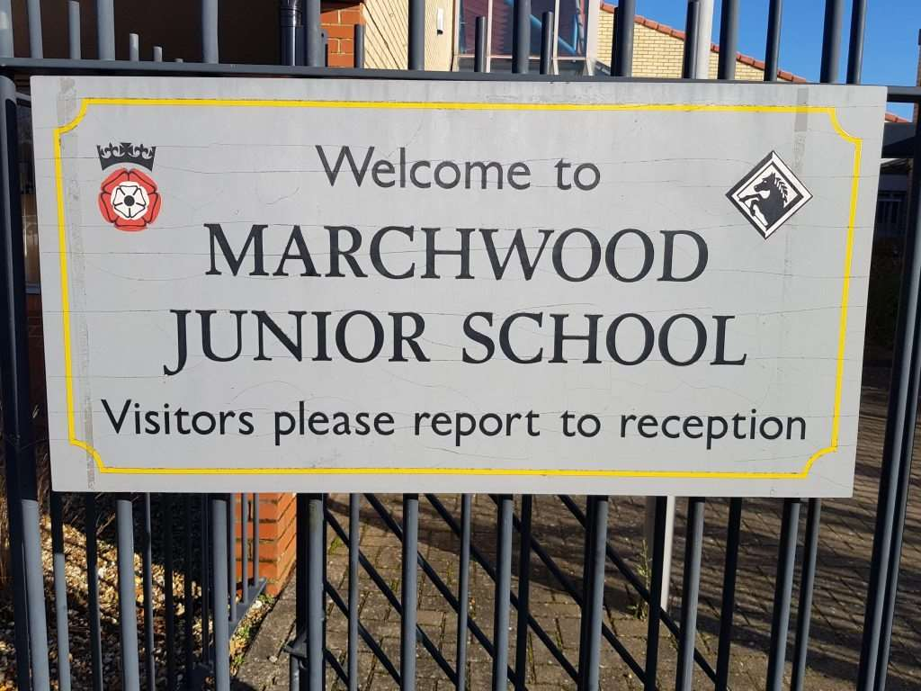 "Marchwood Junior School said the issue was ""still under discussion"" with Hampshire County Council"