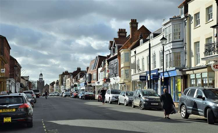 HCC said the charges planned for Lymington's High Street are
