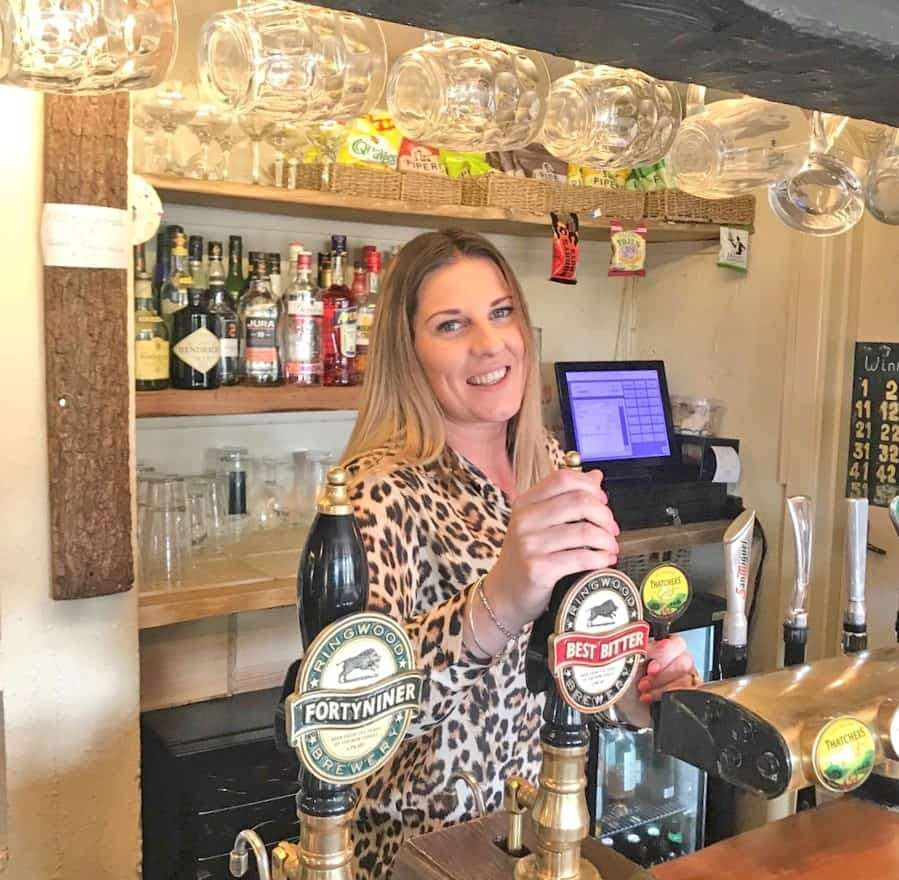East End Arms general manager Danielle Ball