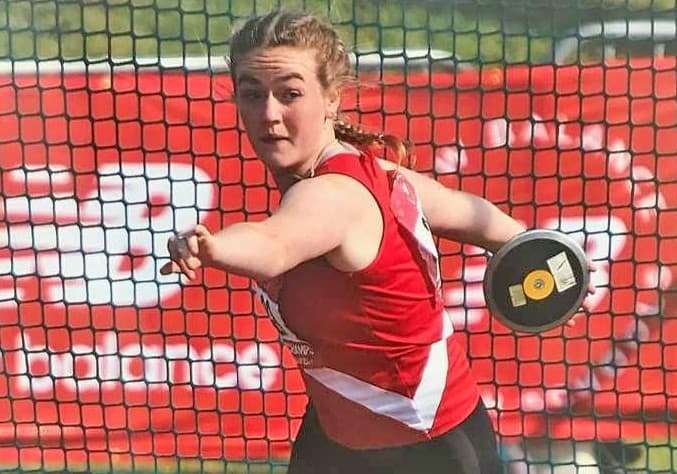 Samantha Callaway won her third English schools title