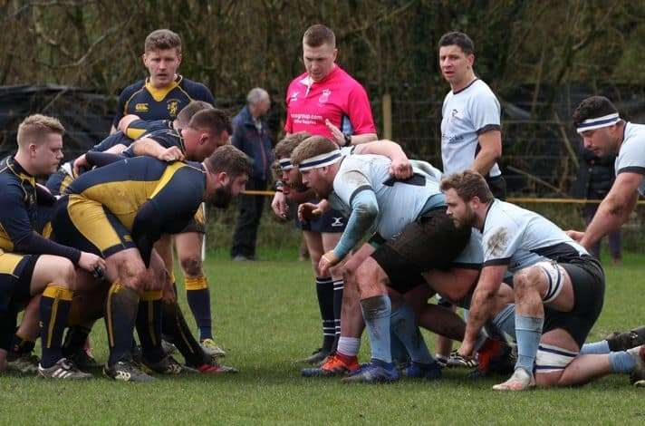 Fordingbridge RFC were knocked out in the Hampshire Vase semi-final by Basingstoke. Photo: Sarah Bealey