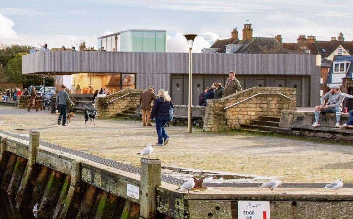 Lymington Town Quay design by Snug architects