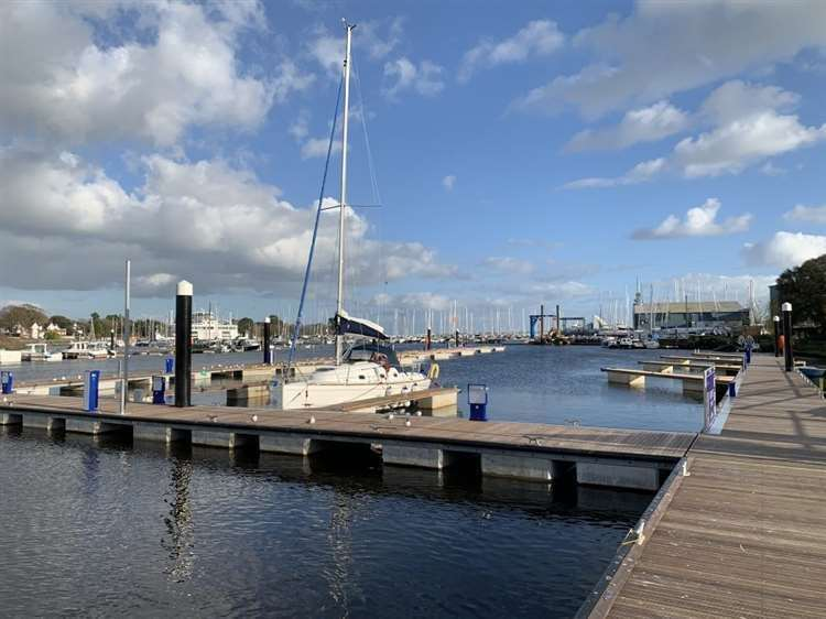 Port staff treated intoxicated people entering the pontoons