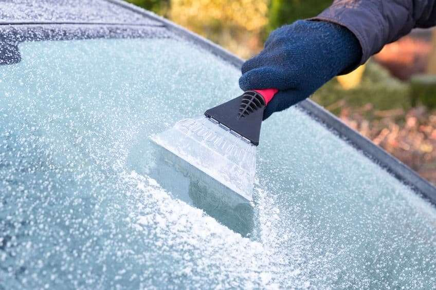 Icy conditions are expected until about 10am on Wednesday (tomorrow) (Photo: stock image)