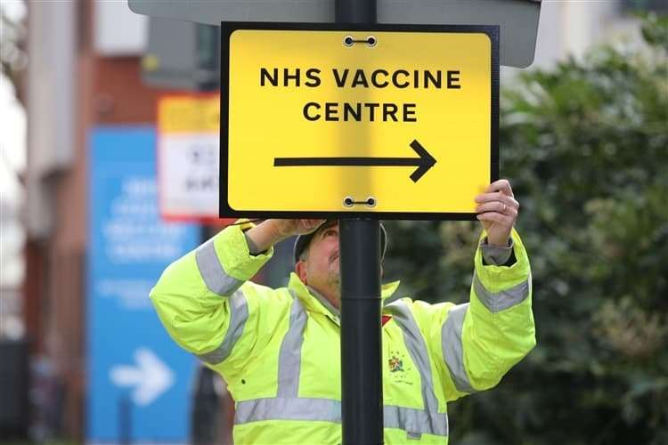 The vaccine roll-out is giving hope of a return to normal life, says NFDC leader Cllr Barry Rickman (picture: PA)