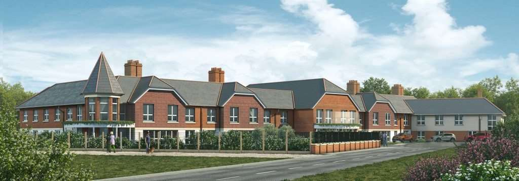 CGI of plans for the new care home