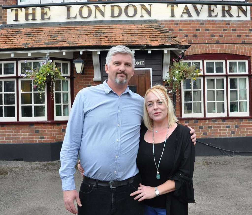 Phil Hoyle and Sarah Williams took over The London Tavern in August 2018