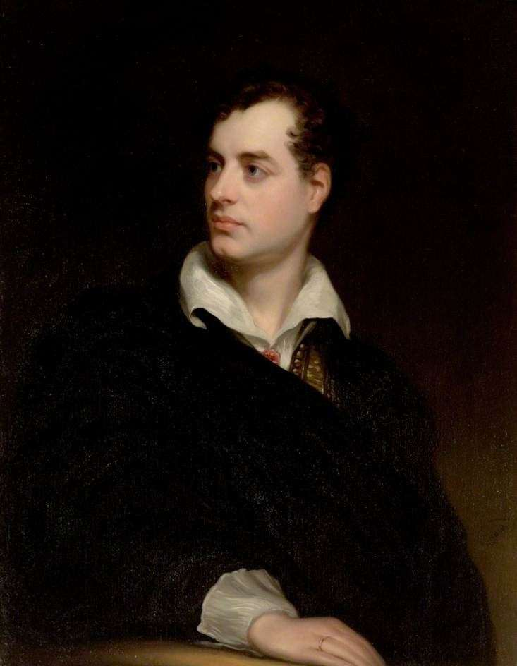Portrait of George, the 6th Lord Byron, by Thomas Phillips, 1813