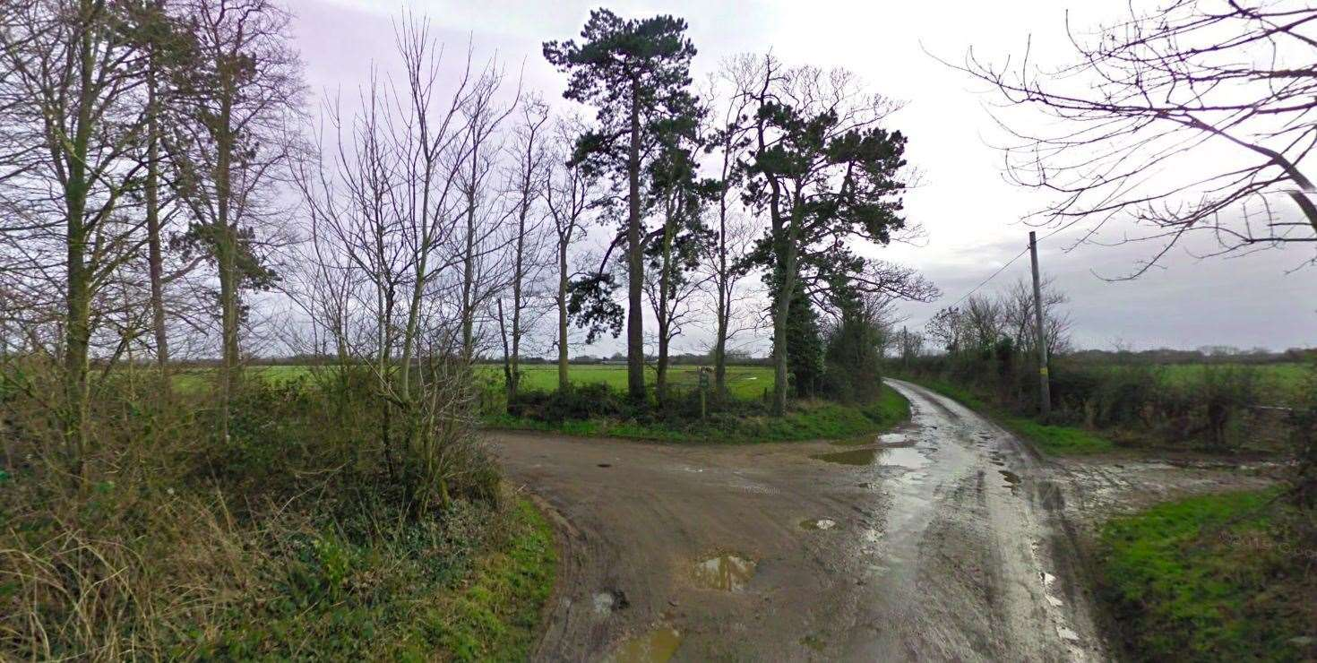 Midgham Farm Cottages is in a rural spot east of Alderholt (pic: Google)