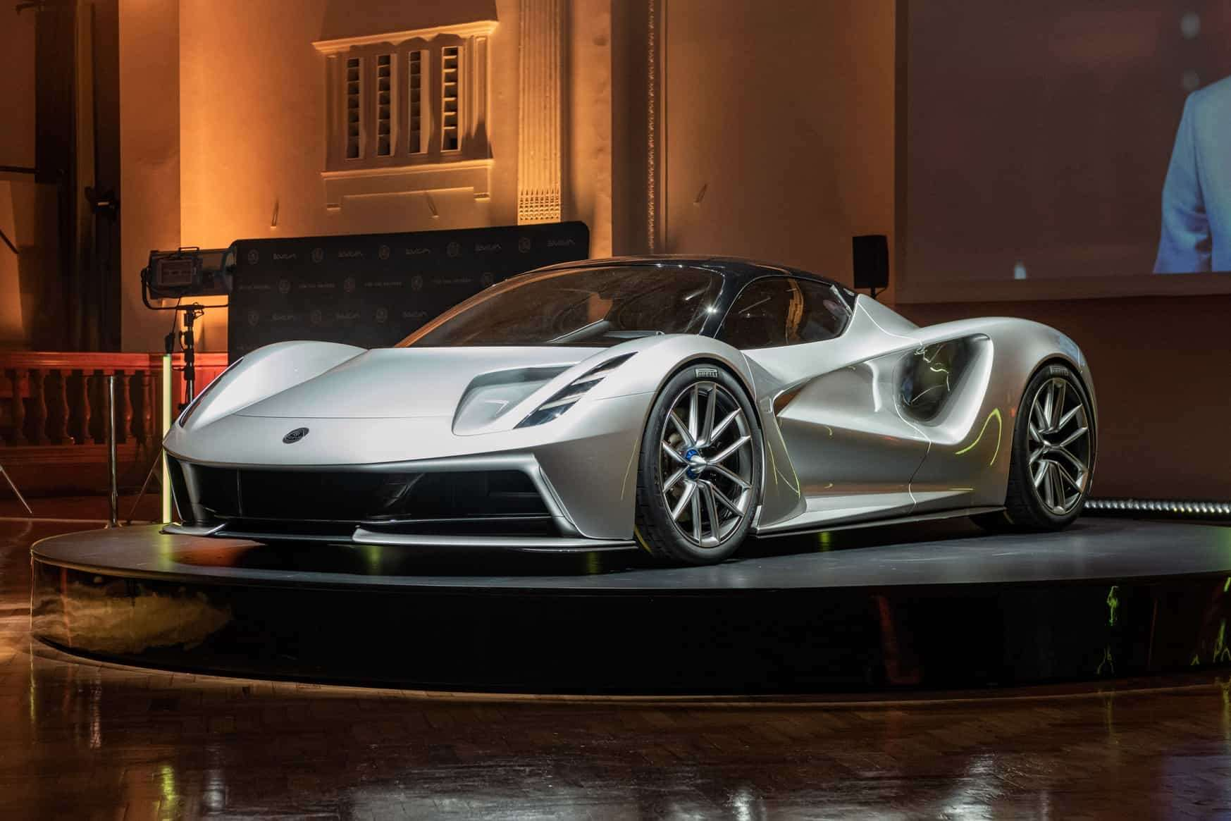 The 2000PS all-electric Lotus Evija